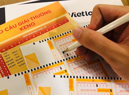 Vietlott ra mắt xổ số Keno, quay số trúng thưởng liên tục 10 phút/lần